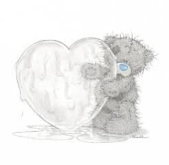 ours coeur glace